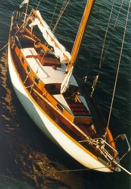 deck of s/y Winette